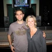 Recording Olivia Newton John